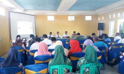 Kegiatan Rapat Minggon Keliling di Desa Pasirangin
