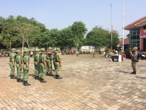Lomba PBB Linmas Desa Tingkat Kecamatan Cileungsi Tahun 2017