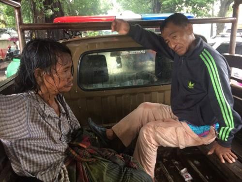 Penanganan Orang Terlantar di Desa Cileungsi