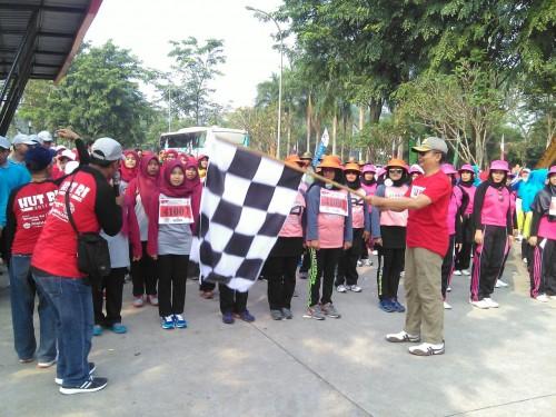 Lomba Gerak Jalan Tingkat kecamatan Cileungsi Tahun 2017
