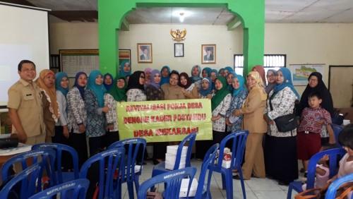 Kegiatan Pelatihan Peningkatan Kapasitas Kader Desa Mekarsari