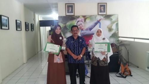 Juara I Kategori Minuman Festival Makanan dan Minuman Tingkat Kabupaten Bogor Tahun 2016