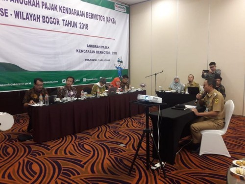 Pemerintah Kecamatan Cileungsi mengikuti Seleksi APKB se-Wilayah Bogor Tahun 2018