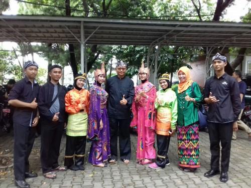 Kecamatan Cileungsi Ikut Berpartisipasi dalam Festival Budaya Daerah di Lapangan Tegar Beriman