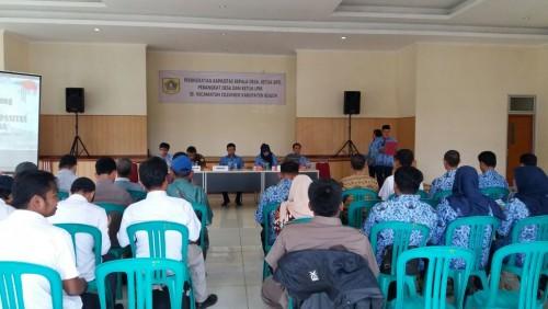 Kegiatan Peningkatan Kapasitas Kepala Desa, Ketua BPD, Perangkat Desa dan Ketua LPM