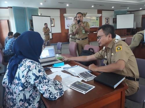 Kegiatan Verifikasi Data Peserta APKB Wilayah Bogor