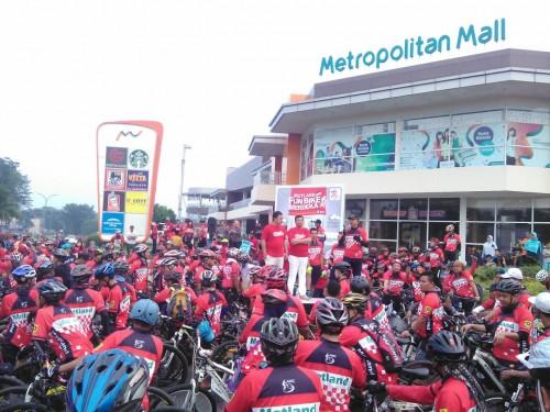 Metland Fun Bike Merdeka Tahun 2017