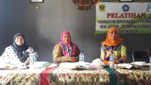 Kegiatan Pelatihan Peningkatan Kapasitas Kader Desa Jatisari