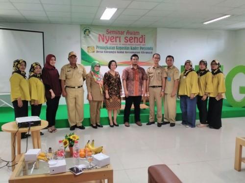 Kegiatan Pelatihan Peningkatan Kapasitas Kader Desa Cileungsi Kidul
