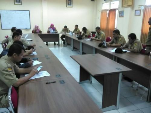 Kegiatan Briefing dengan para Sekdes