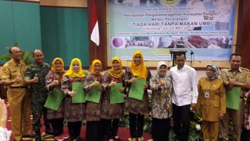 Juara II Lomba Olahan Pangan Lokal dari Umbi-umbian Tingkat Kabupaten Bogor Tahun 2017
