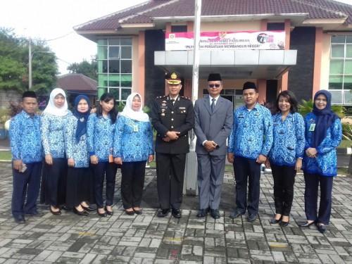 Upacara Peringatan Hari Pahlawan Tingkat Kecamatan Cileungsi Tahun 2017