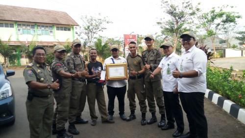 Juara III Administrasi Kepegawaian Kecamatan se-Kabupaten Bogor Tahun 2017