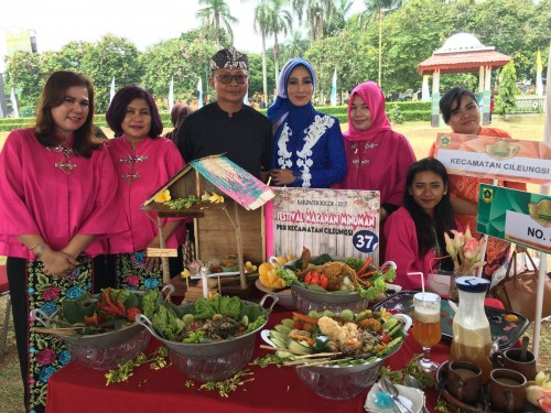 Juara III Festival Makanan dan Minuman Kabupaten Bogor Tahun 2017